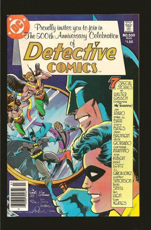DC Comics Detective Comics #500 (1981)