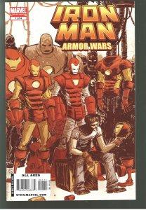 Iron Man: Armor Wars #1,2,3,4 (2009-2010) Limited Series