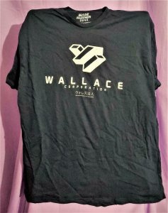 Loot Crate Exclusive BLADE RUNNER 2049 Wallace Corp T-Shirt 2XL (Loot Crate)!