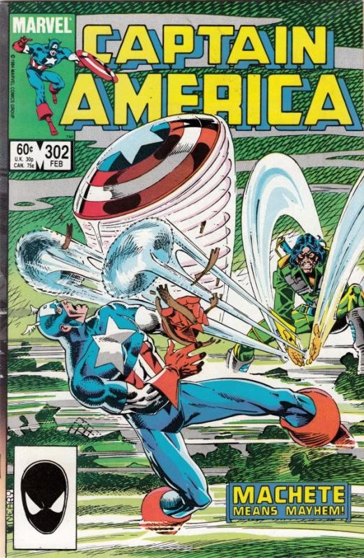 Captain America #302 (Feb-85) NM- High-Grade Captain America