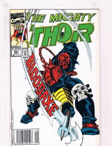 The Mighty Thor #451 FN Marvel Comic Book Avengers Loki Odin Hulk DE3