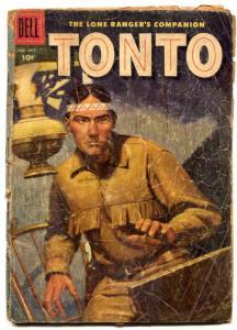 Tonto #24 1956-Dell Western-Lone Ranger's companion FAIR