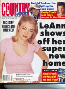 Country Weekly-LeAnn Rimes-Mary Chapin Carpenter-Dwight Yokum-April-1999