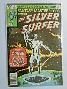 Fantasy Masterpieces #1 N.S. Silver Surfer 2nd Series water damage 5.0 (1979)