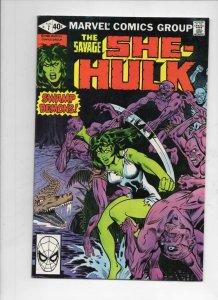 SHE-HULK #7, VF/NM, Swamp Demons, 1980, more Marvel and She-Hulk in store