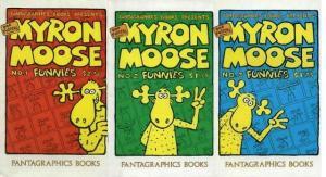 MYRON MOOSE FUNNIES (FN) 1-3 Bob Forster's  COMPLETE!