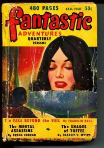 Fantastic Adventures Quarterly Reissue-Pulps-Fall/1950-Lyle Burke