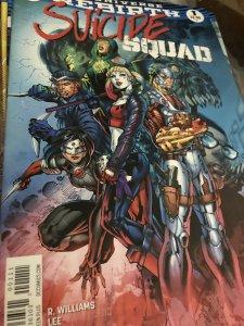 DC Rebirth Suicide Squad #1 Mint Hot