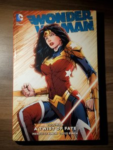 Wonder Woman HC VOL 08: A Twist of Fate (2016) - Used, VG-