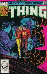 Thing, The #2 FN; Marvel | save on shipping - details inside