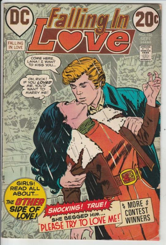 Falling in Love #136 (Sep-72) VG+ Affordable-Grade