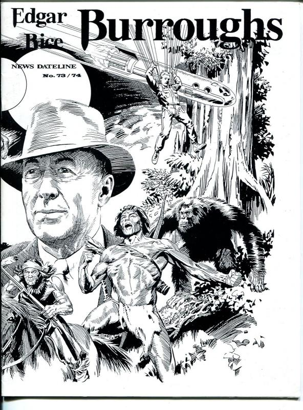 Edgar Rice Burroughs News Dateline #73/74 2004-Tarzan-comics-books-pulps-VF
