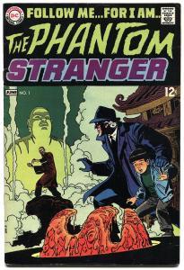 PHANTOM STRANGER #1-1969-HORROR-HIGH GRADE