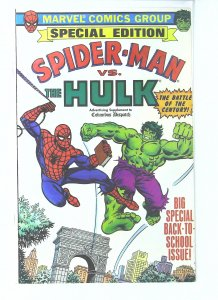 Amazing Spider-Man vs. The Hulk (Supplement to the Columbus Dispatch) #1, NM-...