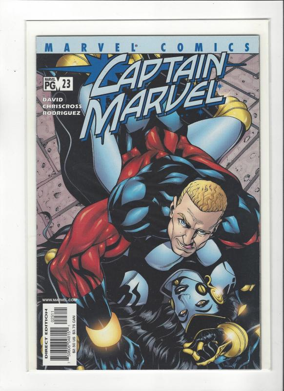 Captain Marvel #23 (2002) Peter David Marvel Comics NM
