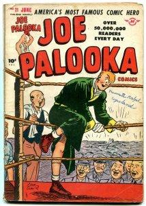 JOE PALOOKA #21 1948-HARVEY COMICS-BOXING-BLACK CAT G/VG