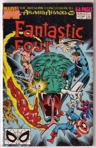 Fantastic Four   vol. 1  Annual   #22 GD (Atlantis Attacks 14)