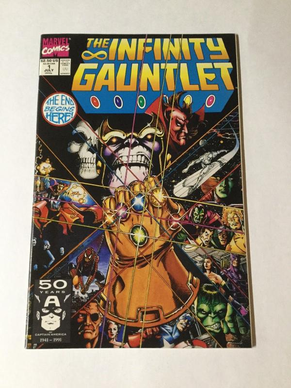 Infinity Guantlet 1 Nm Near Mint 1991 Series
