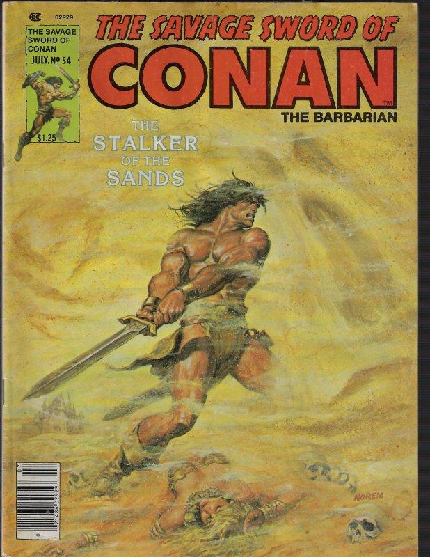 Savage Sword of Conan #54 (Marvel, 1980)