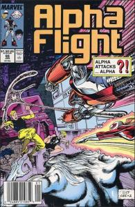 Marvel ALPHA FLIGHT (1983 Series) #66 VF/NM