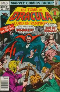 Tomb of Dracula #54 VG; Marvel   low grade comic - save on shipping - details in