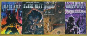 Black Mist #1-4 VF/NM complete series - caliber comics - james pruett 2 3 set