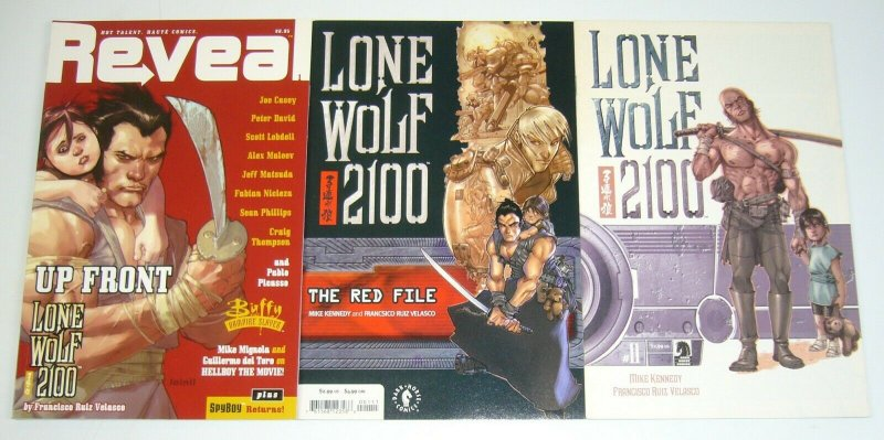 Lone Wolf 2100 #1-11 VF/NM complete series + red file + reveal - dark horse set