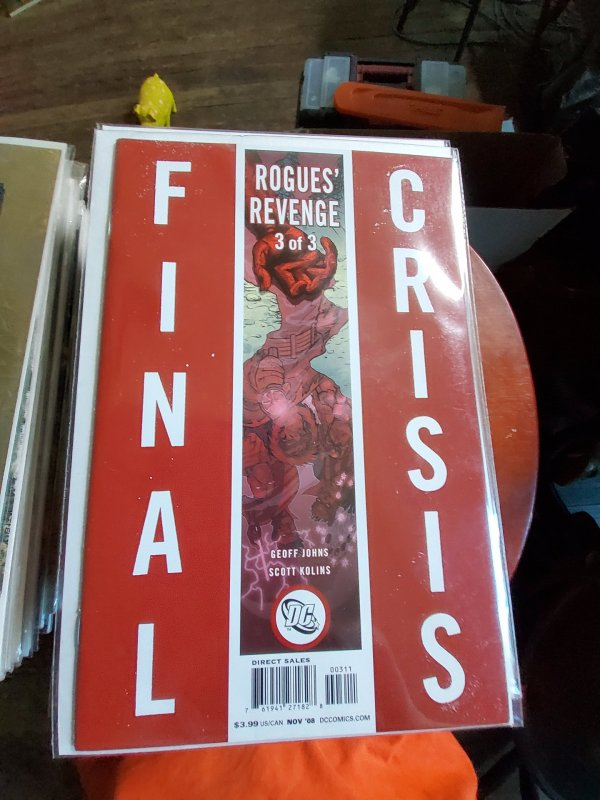 Final Crisis rogues revenge #3