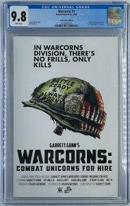 Warcorns #1 | Kit Wallis Exclusive Variant | Garret Gunn | CGC 9.8