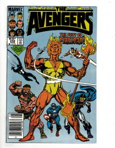 The Avengers #258 (1985) YY11