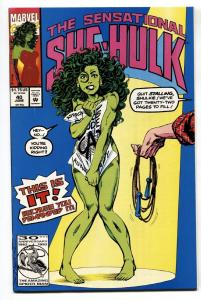 SENSATIONAL SHE-HULK #40 comic book-Famous naked issue