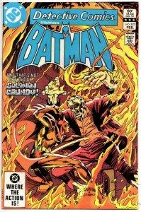 DETECTIVE #523, VF-, Batman, Killer Croc Solomon Grundy, 1937 1983, more BM in s