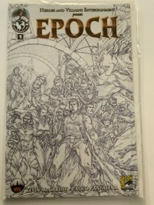 EPOCH #1 SDCC EXCLUSIVE SKETCH VARIANT TOP COW NEAR MINT