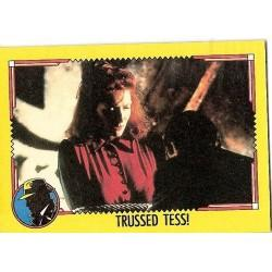 1990 Topps DICK TRACY-TRUSSED TESS! #85