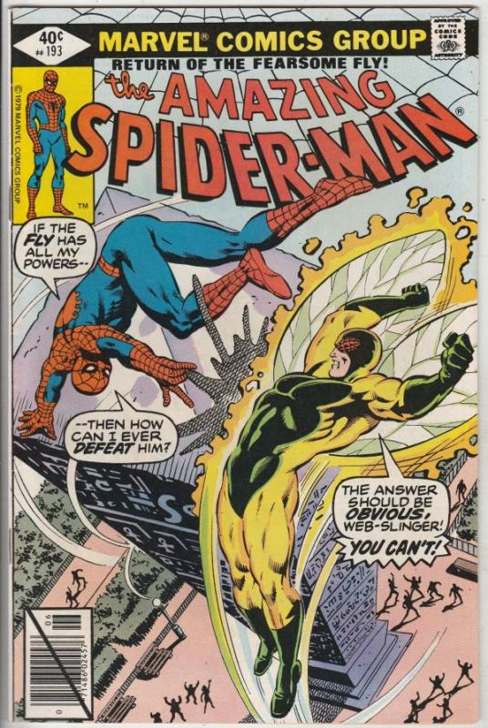 Amazing Spider-Man #193 (Aug-79) VF+ High-Grade Spider-Man