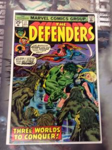 The Defenders #27 VF Cameo of Starhawk
