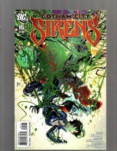 Gotham City Sirens # 15 NM 1st Print DC Comic Book Harley Quinn Poison Ivy SM19