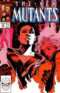 New Mutants (1983 series) #62, VF+ (Stock photo)