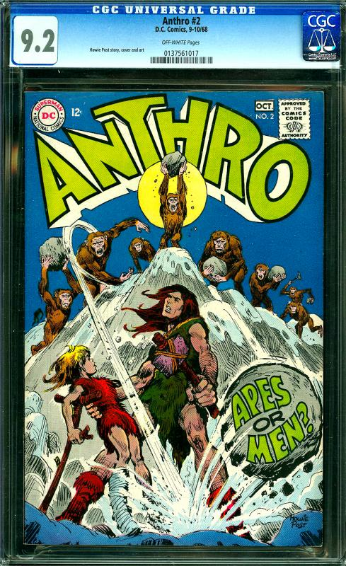Anthro #2 CGC Graded 9.2