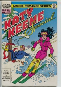 Katy Keene Special #3 1984-Archie-Squaw Valley skiing-pin-ups-fashion-VF