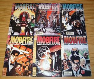 Mobfire #1-6 VF/NM complete series - vertigo comics set 2 3 4 5 warren pleece