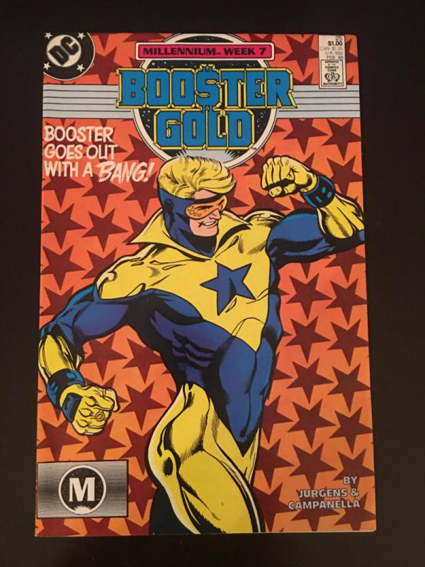 BOOSTER GOLD #25, VF/NM, Jurgens, DC, 1986 1988, more in store