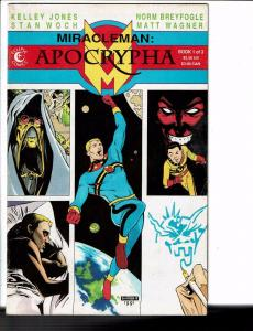 Miracleman: Apocrypha # 1 FN/VF Eclipse Comic Book 1st Print Matt Wagner JB5