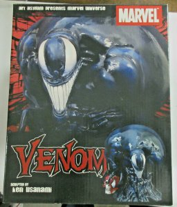 Venom Marvel Universe Spider-Man Art Asylum Bust Diamond Select Toys #635/5000