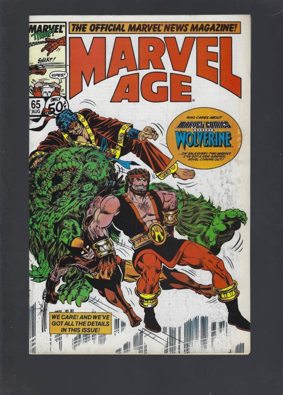 Marvel Age #65 (1988)