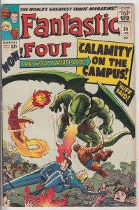Fantastic Four #35 (Feb-65) VF+ High-Grade Fantastic Four, Mr. Fantastic (Ree...
