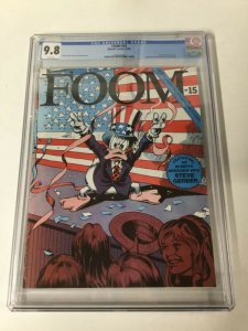 FOOM 15 CGC 9.8 WHITE PGS (copy B) Howard The Duck 1st Ms. MARVEL Carol Danvers