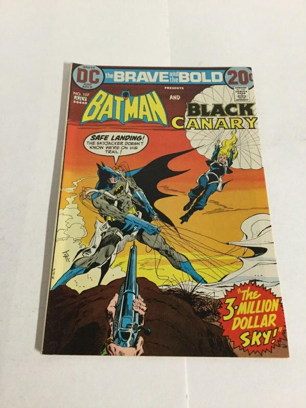 Brave And The Bold 107 Vf- Very Fine- 7.5 DC Comics
