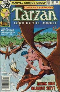 Tarzan (Marvel) #21 VG; Marvel | low grade comic - save on shipping - details in