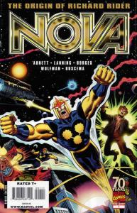 Nova: Origin of Richard Rider #1 VF/NM; Marvel | save on shipping - details insi